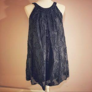Eva Franco Black Trapeze Dress